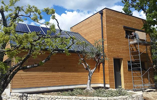 Annexe studio bois et garage