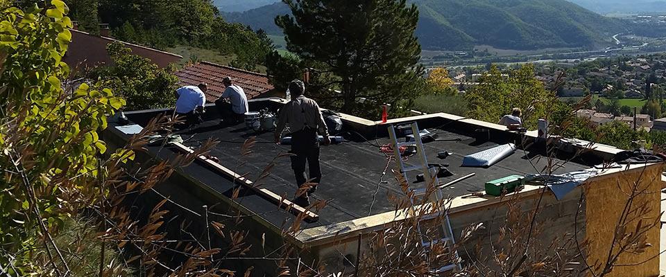 Étanchéité toit