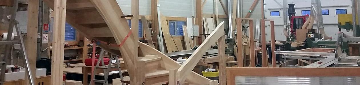 Atelier menuiseries SCOP Arbâts à Forcalquier