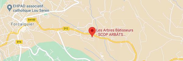 Plan SCOP Arbâts, Les Arbres Bâtisseurs, Forcalquier