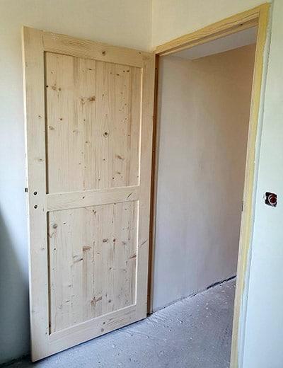 Porte intérieur bois sur-mesure